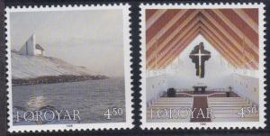 Faroe Islands 344-345 MNH (1998)
