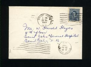 Canada #276   postal stationary  used  1948 PD