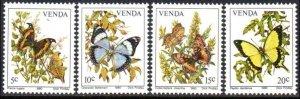 1980 Venda 34-37 Butterflies
