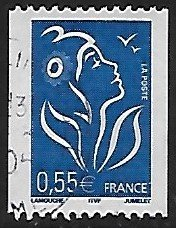 France # 3807A - Marianne by Lamouche - used . . . [GR33]