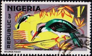 Nigeria. 1965 1s S.G.227 Fine Used