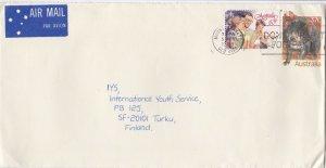 DB854) Nice Uprated PSE to Finland. Tasmanian Devil, christmas. Price $6