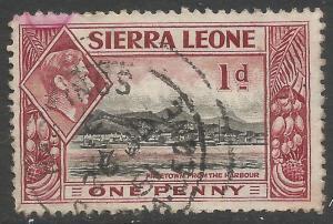 SIERRA LEONE 174 VFU Z7071-1