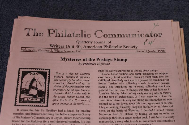 1994 & 1998 & 2001 Philatelic Communicator Stamp Publication Magazine - 3 Runs