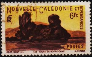 New Caledonia. 1948 6f  S.G.320 Fine Used