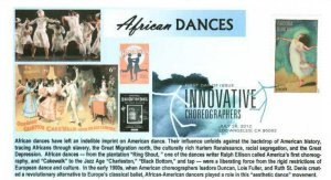 6° Cachets 4698 Choreographers Isadora Duncan African Dance Jazz Age DCP