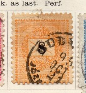 Hungary 1887 Early Issue Fine Used 8k. 240569