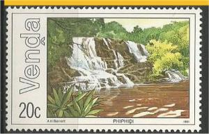 VENDA, 1981, MNH 20c, Nwanedi Dam Scott 46