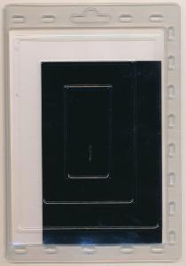 Prinz Scott Stamp Mounts Size 140/90 BLACK Background Pack of 10