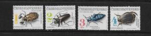INSECTS - CZECHOSLOVAKIA #2863-6  MNH