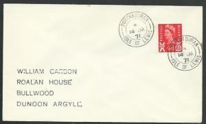 GB SCOTLAND 1971 cover PORTNAHAVEN / ISLE OF ISLAY cds.....................66637