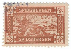 (I.B-CK) Norway Local Post : Spitsbergen 30 Ore