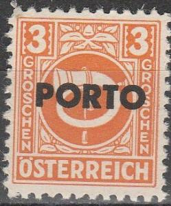 Austria #J189  MNH