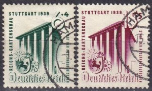 Germany #B138-9 F-VF Used CV $6.75 (Z4646)