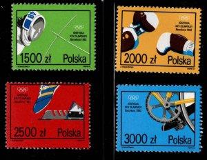 Poland Scott 3095-3098 MNH** set