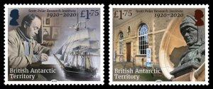 BRITISH ANTARCTIC 2019 SCOTT POLAR INSTITUTE EXPLORERS SHIP ANTARCTIC [#1901]