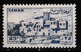 Lebanon 1947 Scott 207 Crusader Castle MNH