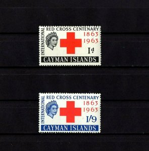 CAYMAN IS - 1963 - QE II - RED CROSS CENTENARY - MINT - MNH - SET!