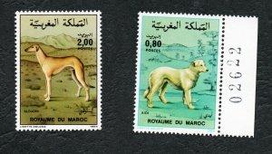 1984 - Morocco - Maroc - Dogs - Chiens - Complete set 2v.MNH**