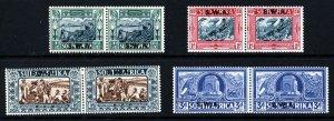 SOUTH WEST AFRICA 1938 Bilingual Voortrekker Centenary Set SG 105 to SG 108 MINT