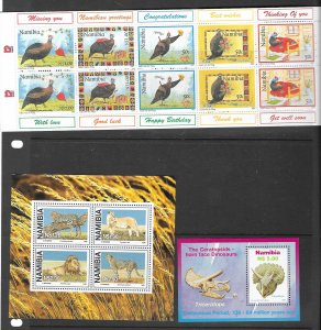 Namibia 845b,847,870b,881a,906a all MNH and very Topical, see desc.
