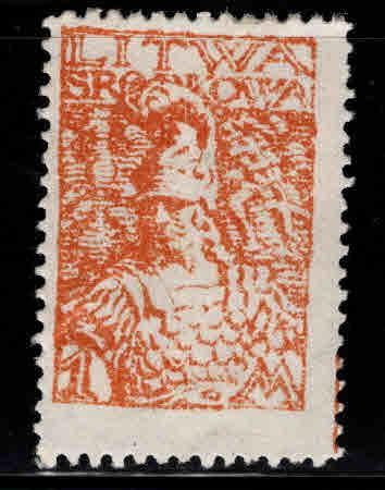 CENTRAL LITHUANIA  Scott 24 MH* 1920
