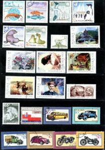 POLAND Sc#2782-2840, B145-6 (55 stamps + 3 SS) 1987 Year Set Complete Used