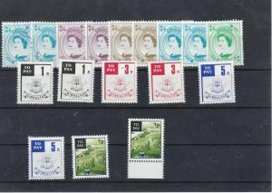 Gibraltar Postage Due Stamps Ref: R5595