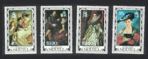 Anguilla 400th Birth Anniversary of Rubens 4v SG#303-306