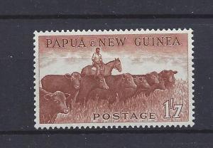 Papau New Guinea, 144, Cattle Single,**LH**