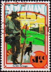 New Zealand. 1992 $1 S.G.1710 Fine Used