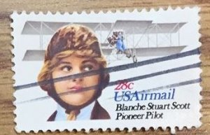 US #C99 Used F/VF - Blanche Stuart Scott