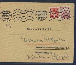67964- CZECHOSLOVAKIA 1940 - CIRCULATED COVER