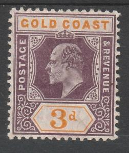 GOLD COAST 1904 KEVII 3D WMK MULTI CROWN CA