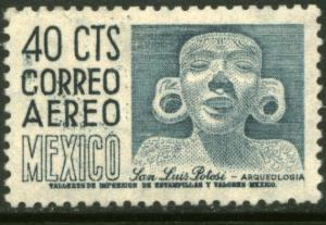 MEXICO C192 40cts 1950 Definitive 1st Printing wmk 279 MH