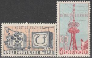 Czechoslovakia #1167-8  MNH F-VF (V2557)