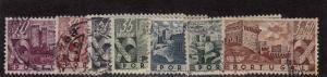 Portugal - 1945 - SC 662-69 - Used - Short set - N0 666