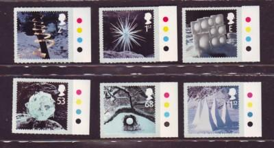 Great Britain Sc 2165-70 2003 Christmas stamp set mint NH
