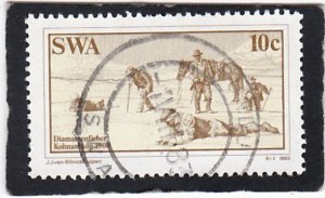 South West Africa,  #   508   used