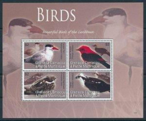 [108891] Carriacou & Petite Martinique 2007 Birds vögel Hawk Mini sheet MNH