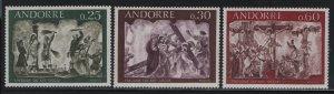 ANDORRA, 185-187, MNH, 1968, JESUS