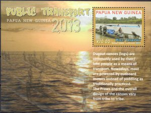Papua New Guinea. 2013. transport. MNH.