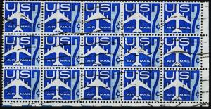 U.S.A. 1958 7c(Block of 15). S.G.A1111 Fine Used