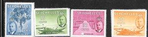 SEYCHELLES #159-162 Various (MNH) CV$5.05