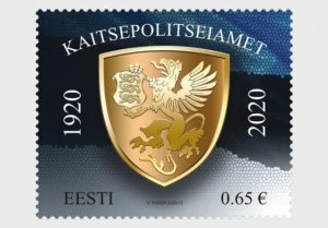 Estonia 2020 Estonian Internal Security Service MNH**