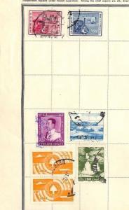SA949 LEBANON Original Album page from oldtime collection