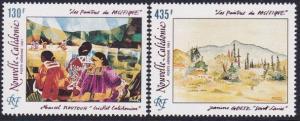 NEW CALEDONIA 1991 Paintings set MNH........................................4849