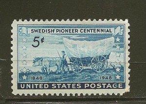 USA 958 Swedish Pioneer MNH