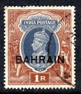 BAHRAIN    SG 32   1 rupee value   used