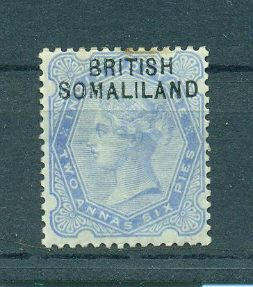 Somaliland Protectorate sc# 4 mh cat value $2.25
